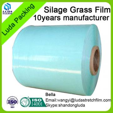 high quality width bale wrap film green width hay bale wrapping film