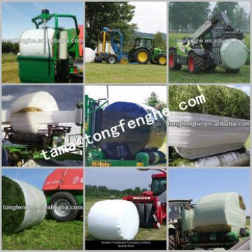 50cm/ 75cm width LLDPE silage wrap stretch film for grass packing