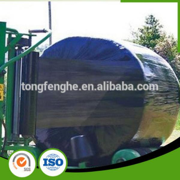 hot film agriculture bale wrap silage black plastic film #1 image
