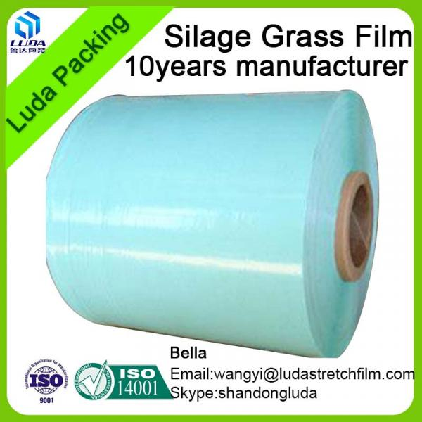 hign quality width bale wrap film 750mm width square bale silage #4 image