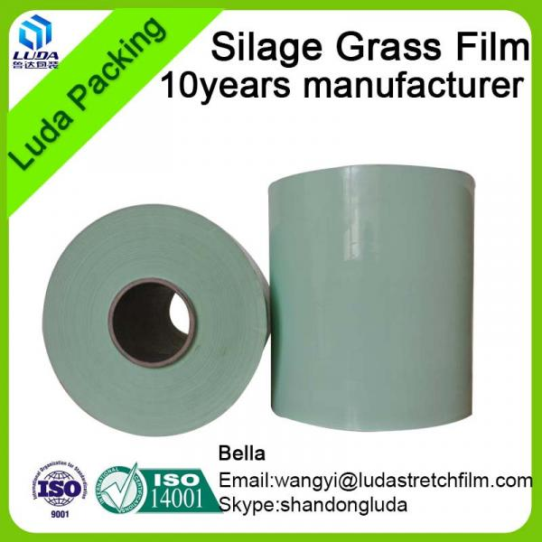 hign quality width bale wrap film 750mm width square bale silage #5 image