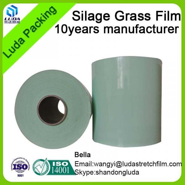 Luda Stretch Film Wrapping Film silage grass film silage wrap film bale films #5 image