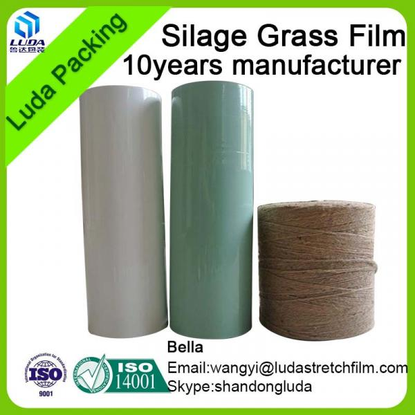 hign quality width bale wrap film 750mm width square bale silage #3 image